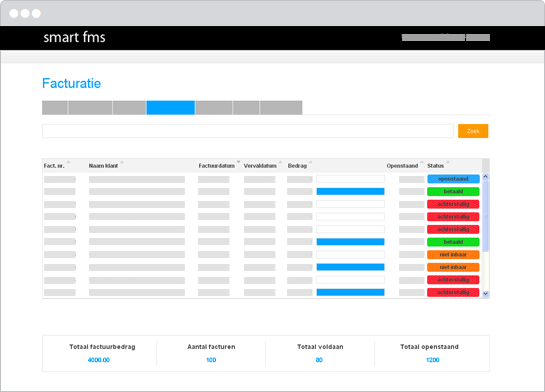 factuur systeem Facturatie software systeem